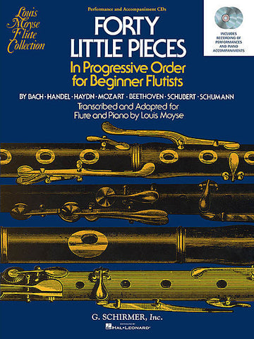 40 Little Pieces- Progressive Order for Beginner Flutists