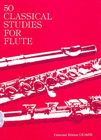 Vester, Frans : 50 Classical Studies for Flute