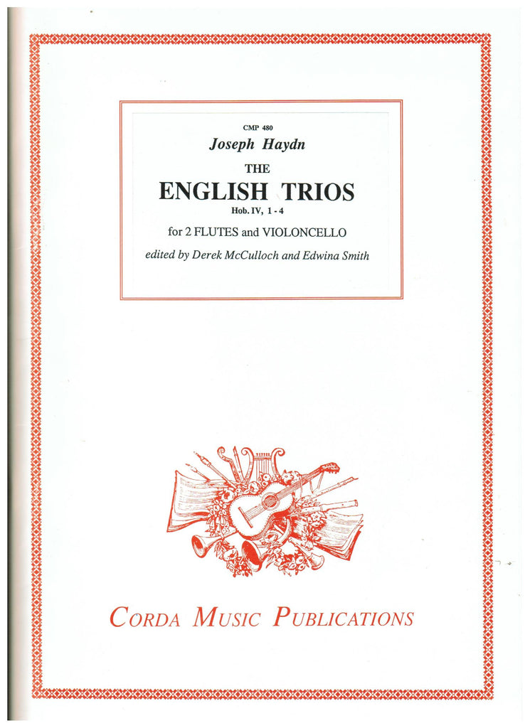 Haydn, Joseph :The English Trios, Hob. IV, 1-4