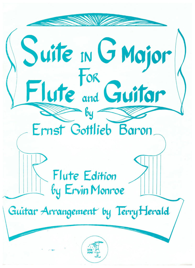 Baron, Ernst Gottlieb : Suite in G Major for Flute and Guitar