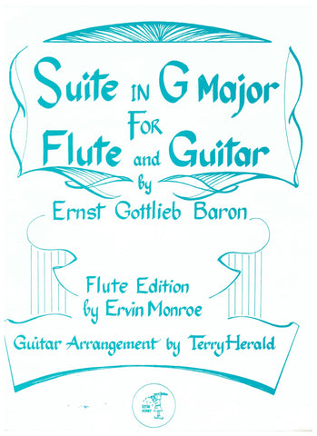 Ernst Gottlieb Baron - Suite in G Major for Flute and Guitar