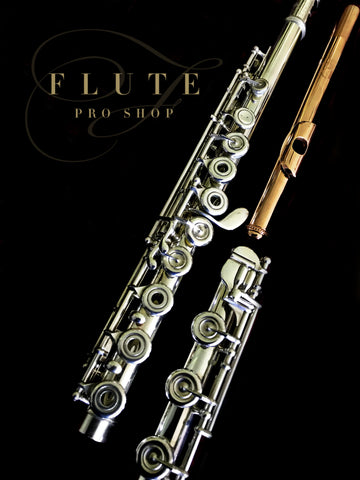 Burkart 5-95 Platinum Enhanced Silver Flute No. 577