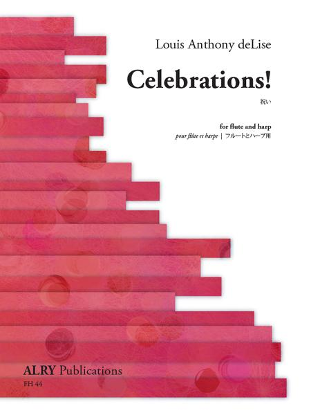 deLise, Louis Anthony : Celebrations for Flute and Harp *Flute Pro Shop Miniatures*