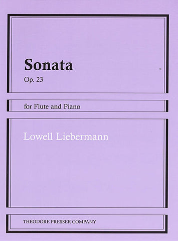 Lowell Liebermann:Sonata Op. 23