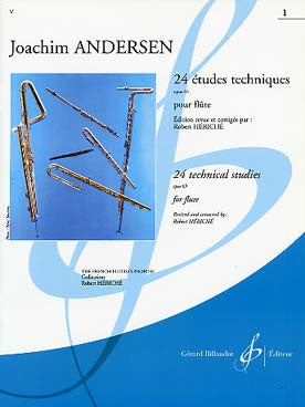 Andersen, Joachim : 24 Etudes Instructives, Op. 30