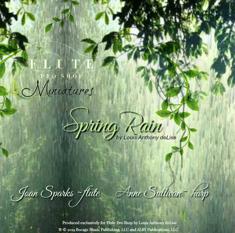 Spring Rain by Louis Anthony deLise