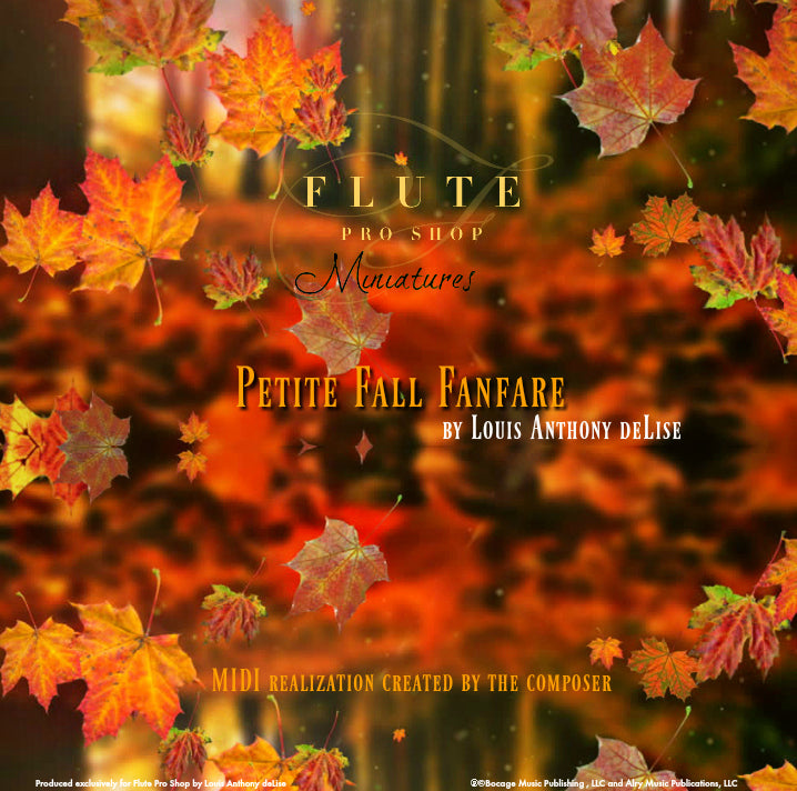 Petite Fall Fanfare by Louis Anthony deLise
