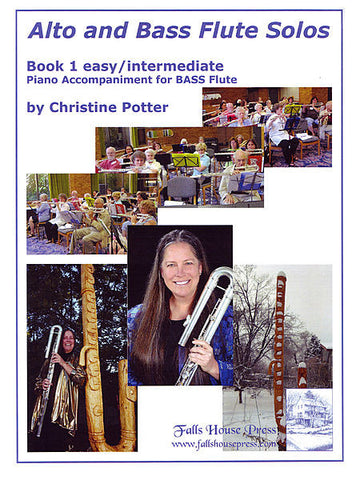 Potter, Chris :  Alto and Bass Flute Solos Book 1