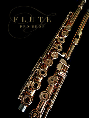 Rose Gold Plated Powell Sonare Flute No. 32415