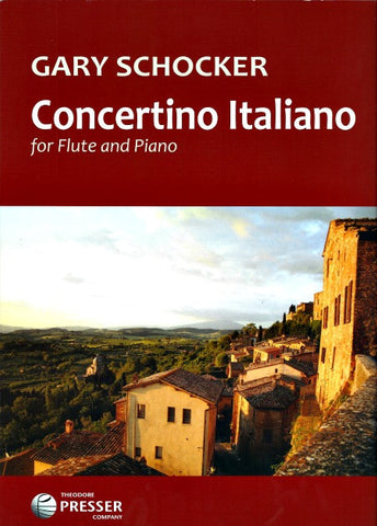 Schocker, Gary : Concertino Italiano