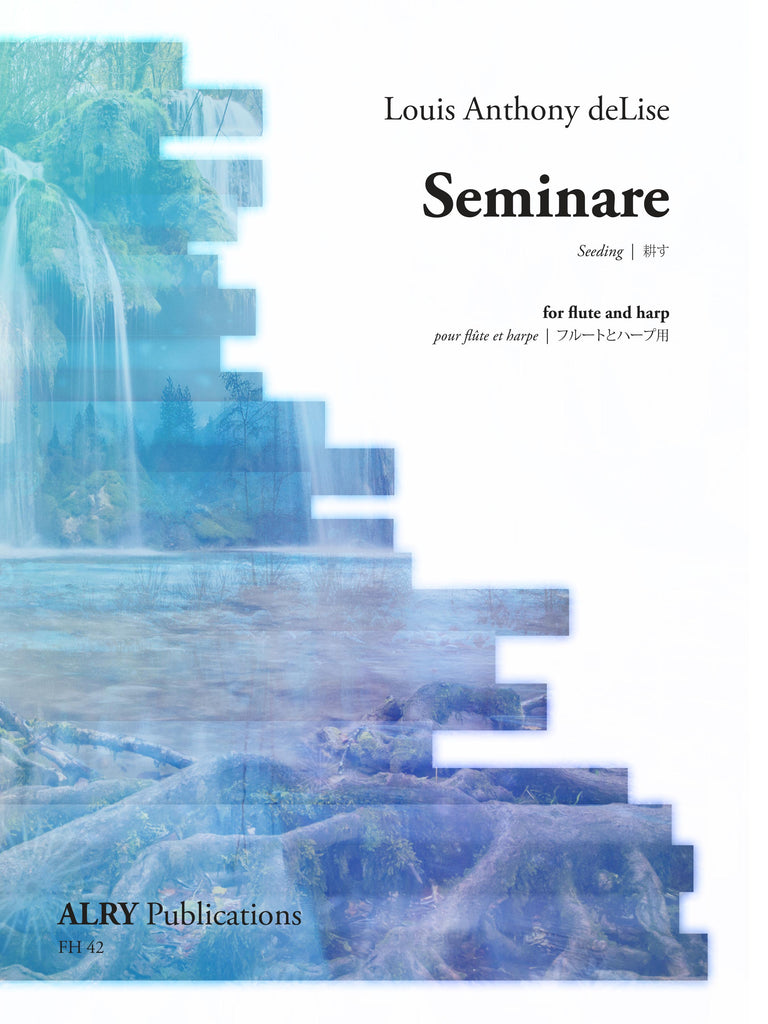 deLise, Louis Anthony : Seminare for Flute and Harp *Flute Pro Shop Miniatures*