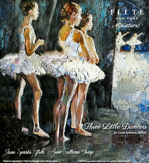 Three Little Dancers by Louis Anthony deLise