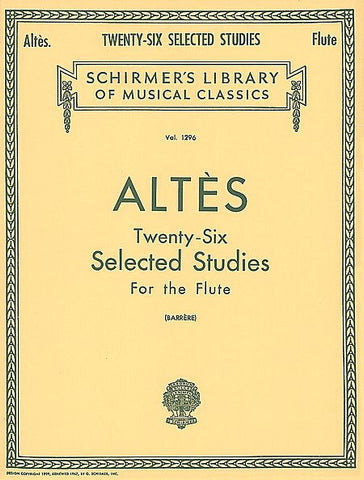Altes: 26 Selected Studies for the Flute