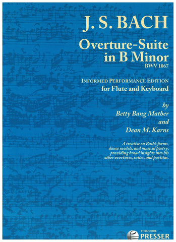 Bach, Johann Sebastian : Overture Suite in B Minor
