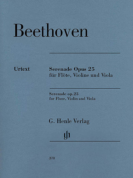 Beethoven: Serenade in D Major Op. 41