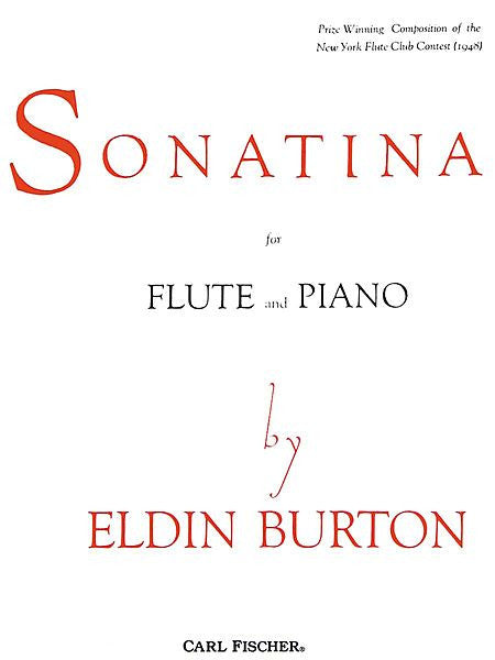 Burton, Eldin : Sonatina for Flute and Piano