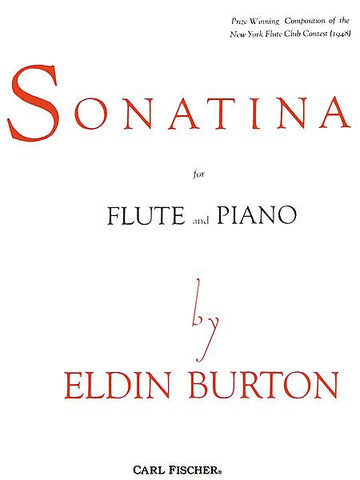 Eldin Burton-Sonatina for Flute and Piano