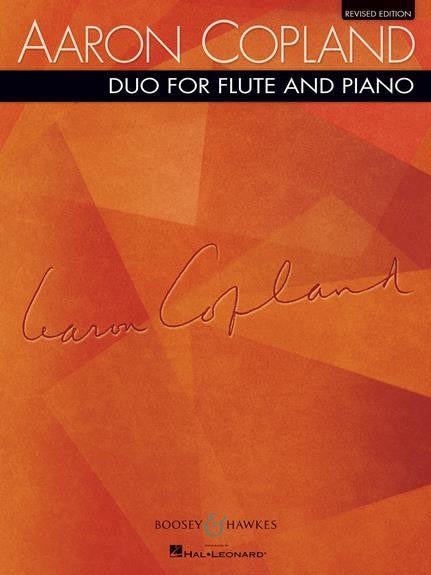 Copland, Aaron :Duo for Flute and Piano (Revised Edition)