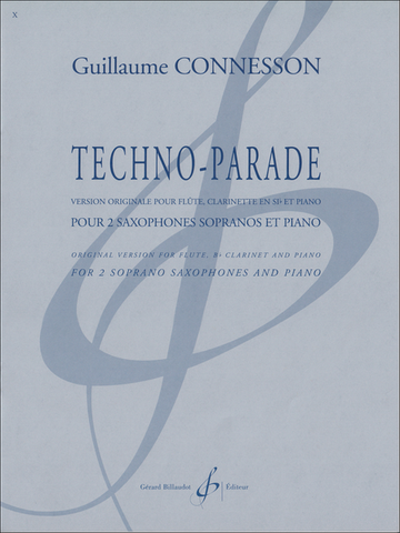 Connesson, Guillaume  : Techno-Parade