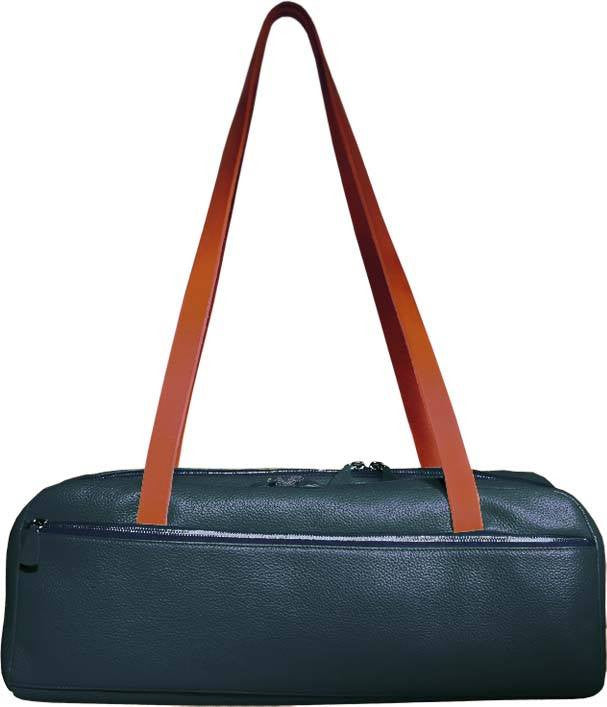 Dome-Street Double Flute Case Madras Forest