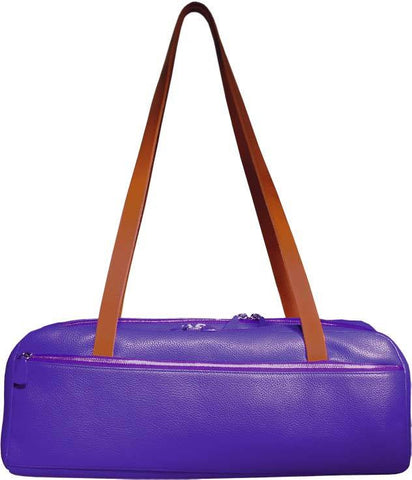 Dome-Street Double Flute Case Madras Purple