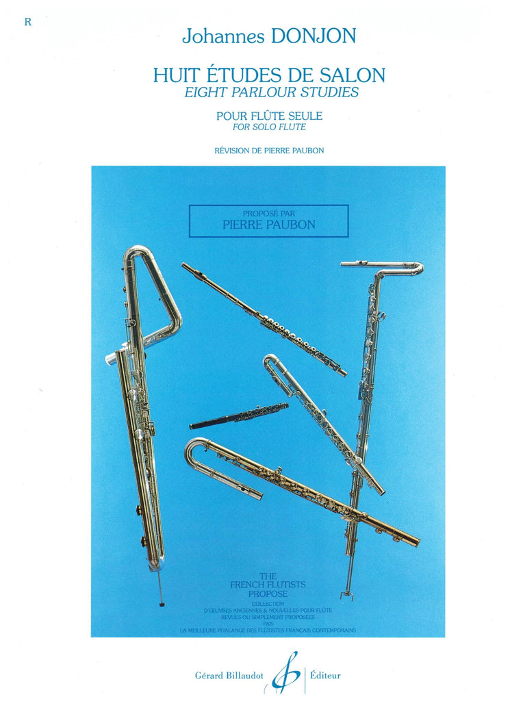 DonJon: Eight Parlour Studies for solo flute