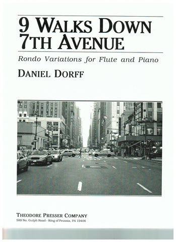 Dorff, Daniel : Nine walks down 7th Ave.