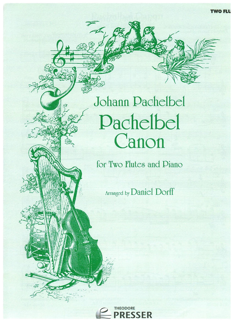 Dorff, Daniel : Pachelbel Canon for Two Flutes and Piano