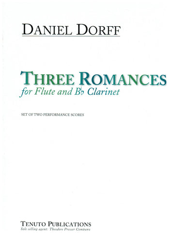 Dorff, Daniel : Three Romances