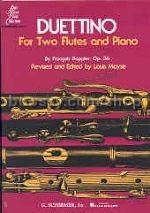 Doppler, Francois : Duettino  For Two Flutes and Piano