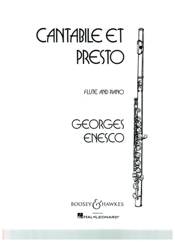 Enesco, Georges : Cantabile et Presto