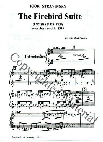 Stravinsky, Igor : The Firebird Suite