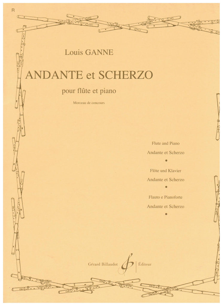 Ganne, Louis : Andante at Scherzo