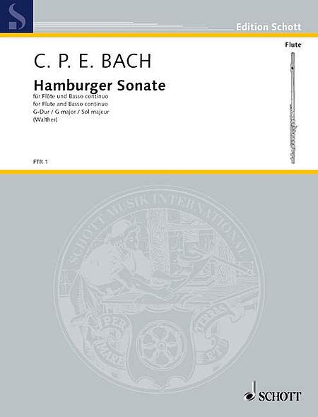 Bach,  Carl Philipp Emanuel  : Hamburger Sonate