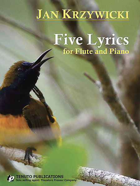 Krzywicki: Five Lyrics for flute and piano
