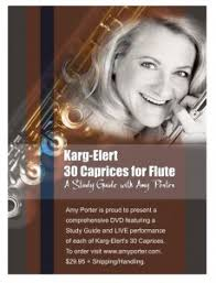 Amy Porter: Karg-Elert 30 Caprices for Flute