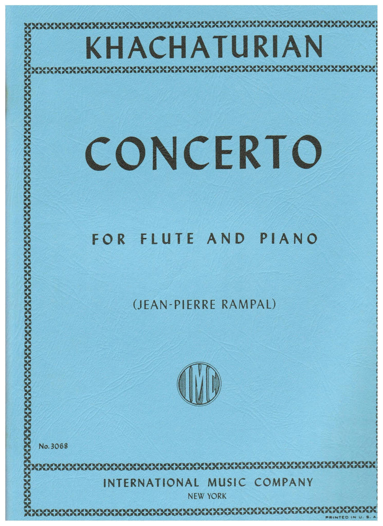 Khachaturian, Aram : Concerto for flute and piano