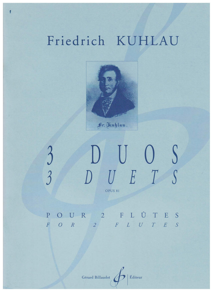Kuhlau, Friedrick : Op. 81 for Two Flutes