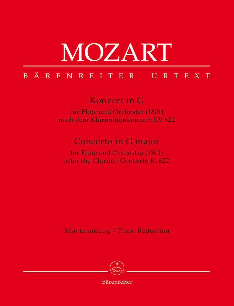 Mozart,Wolfgang Amadeus : Concerto in G Major after KV 622