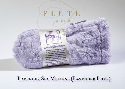 Heated Lavender Spa Mittens