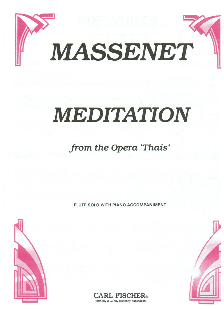 Massenet, Jules : Meditation