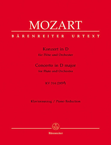 Mozart, Wolfgang Amadeus: Concerto in D Major KV 314