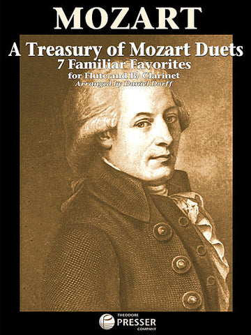 Dorff, Daniel : A Treasury of Mozart Duets