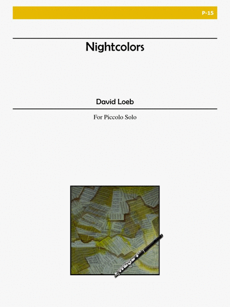 Loeb, David:  Nightcolors for Piccolo