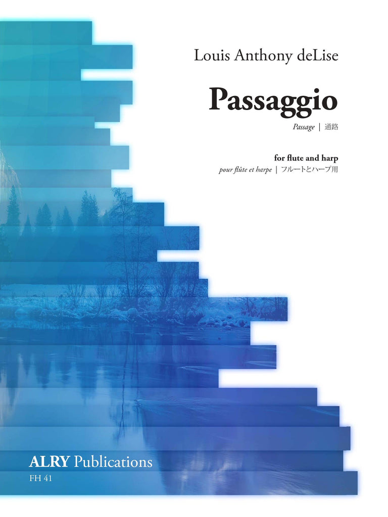 deLise, Louis Anthony : Passaggio for Flute and Harp *Flute Pro Shop Miniatures*