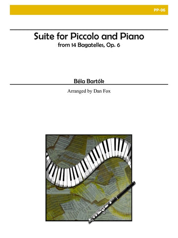 Bartok, Bela : Suite for Piccolo and Piano , Op. 6