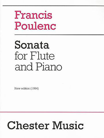 Poulenc, Francis : Sonata for Flute and Piano