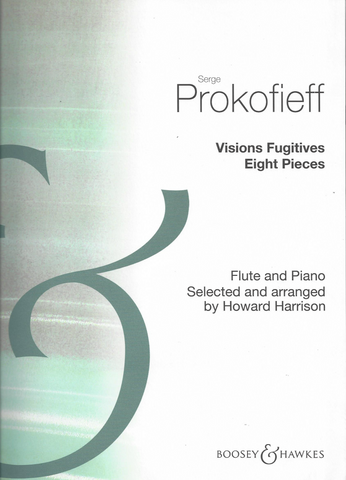 Prokofieff, Serge : Visions Fugitives Eight Pieces