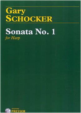 Schocker, Gary : Sonata No. 1 for Harp