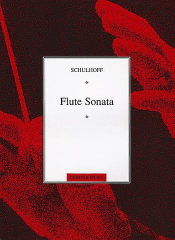 Schulhoff, Erwin: Sonata for Flute and Piano